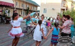 Русские вечеринки в Гостином дворе Вояж, Крым Заозерное лето 2014
