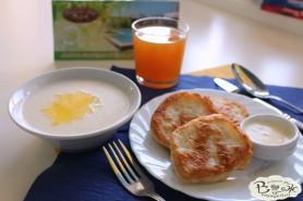 Отдых в Крыму с детьми. Заозерное. Гостиный двор Вояж. Вариант завтрака.