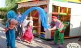 Отдых в Крыму с детьми. Заозерное. Гостиный двор Вояж. А у нас клоуны в гостях...