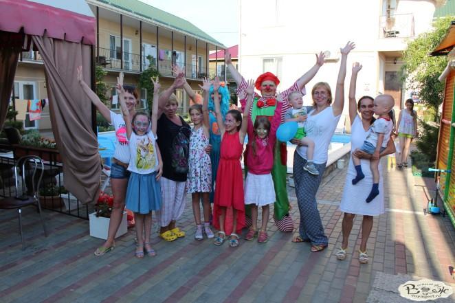 Отдых в Крыму с детьми.Заозерное.Гостиный двор Вояж.Наши гости.