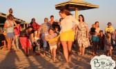 Отдых в Крыму с детьми. Заозерное. Гостиный двор Вояж. Праздник Нептуна.